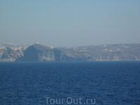 Подплывая к Санторину - 1 .