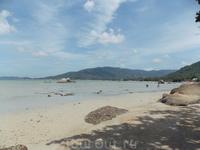 север пляжа Ламай
