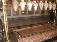 В Храме Гроба Господня. Гроб Господень