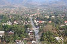 Пуанпабан с высоты холма Пуси.