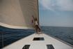 На борту парусной яхты