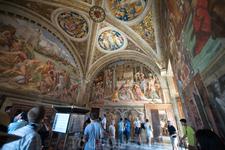 Музеи Ватикана. Станцы Рафаэля.