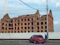 Руины здания мельницы Гергардта.Входят в музейный комплекс