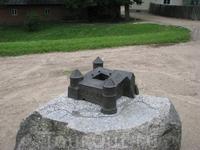 Макет старого замка