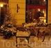 Рождественское оформление Pierre Cafe на Ратушной площади.