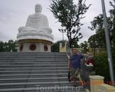 большой белый будда