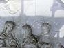 Эта скульптурная группа Святое семейство, (автор Juan Domingo Olivieri), которая располагается в центральном медальоне, над входом в церковь,  нуждается ...
