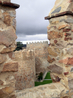 Это удивительно, но реставрации, естественно неоднократно проводившиеся, практически не изменили изначальный облик этих стен.