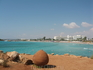 Nissi beach_самый тусовочный пляж Кипра :) П.С. в следующих фотоотчетах можно будет увидеть как пусто-пусто на этом пляже зимой ))