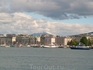 Женевское озеро и в облаках МонБлан маячит