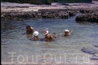 купаеммся в вулканических лягушатниках