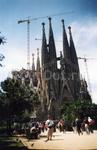 Одно из творений Гауди - кафедральный собор Барселоны