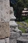 Остатки древнего города.