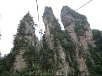А вот и началось покорение заповедника Улинъюань, находящегося в Чжанцзяцзе.
