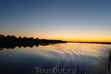 Волга , как всегда, прекрасна.