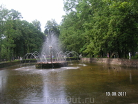 Петергоф. Нижний парк. Фонтан Солнце