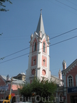 Кирха Св. Георга была построена в 1863 году и является одной из красивейших и старейших лютеранских церквей Поволжья