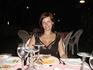 прекрасный ужин в отеле на свежем воздухе - барбекю