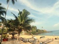 В Индии НЕТ частных пляжей. когда отели пишут, что есть собственный пляж , они лукавят. Да, они выставляют охранников и просят индийцев купаться и ставить ...