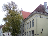 Дом губернатора Таллина, в котором останавливался Петр I