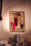Церковь Св.Маргариты. Картина Венчания Данте Алигьери с Джеммой Донати.