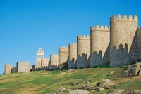 Крепостная стена Авилы