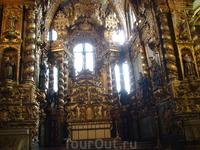 Знаменитая церковь святого Франтишка - вся позолоченная,позолота 2 мм.