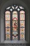 Витражи Церкови Святого Иоанна