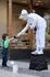 """Живая статуя и малыш, из коллекции """"Дети"""""""