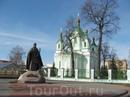 Памятник св. Афанасию Брестскому. Сразу за Интуристом