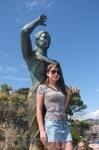 Скульптура Дона Маринера, смотрю в даль