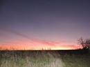 Вот такой сказочный закат нам удалось наблюдать в тот день