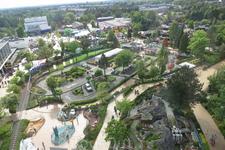 Вид на парк развлечений ЛЕГОЛЭНД с высоты птичьего полета. Мечты сбываются!