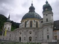 Мужской монастырь в Эттале. Остановились по дороге в Линдерхоф