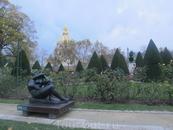 в саду музея Родена