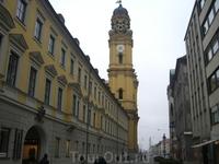 Обычная мюнхенская улица.