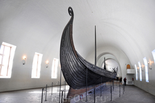 Осло. Полуостров Бюгдё. Музей кораблей викингов.