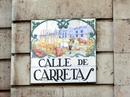 Таблички с названиями улиц - это целое произведение искусства. Они такие красивые не только в Мадриде, но и в Сеговии, и в Толедо тоже.
