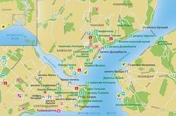 Карта Стамбула на русском