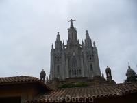 Искупительный Храм Святого Сердца на горе Тибидабо