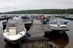 По пути заехали на лодочную станцию на Ладожском озере...