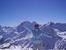 Вид со станции Мир.Куда ни посмотришь везде заснеженные вершины!Это и есть Кавказский хребет!