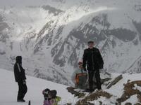 среди лыжников