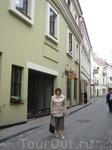 Прогулка утром по Вильнюсу.