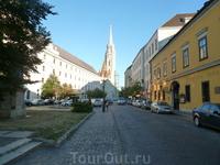 Старые улицы Будапешта