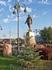 Памятник Гейдару Алиеву в одноименном парке