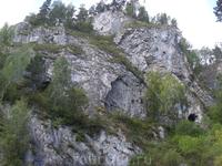 Тавдинские пещеры на территории т/б Бирюзовая катунь