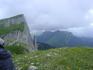 Вид с Большого Тхача на Малый Тхач. 2009