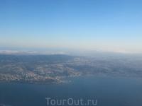 Начало путешествия. Вид на Лиссабон с борта самолета