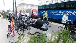 Дания - велосипедная страна.